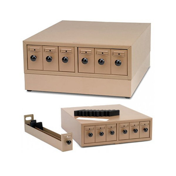 Microscope Slide Storage Cabinet Base Unit | Polysciences ...
