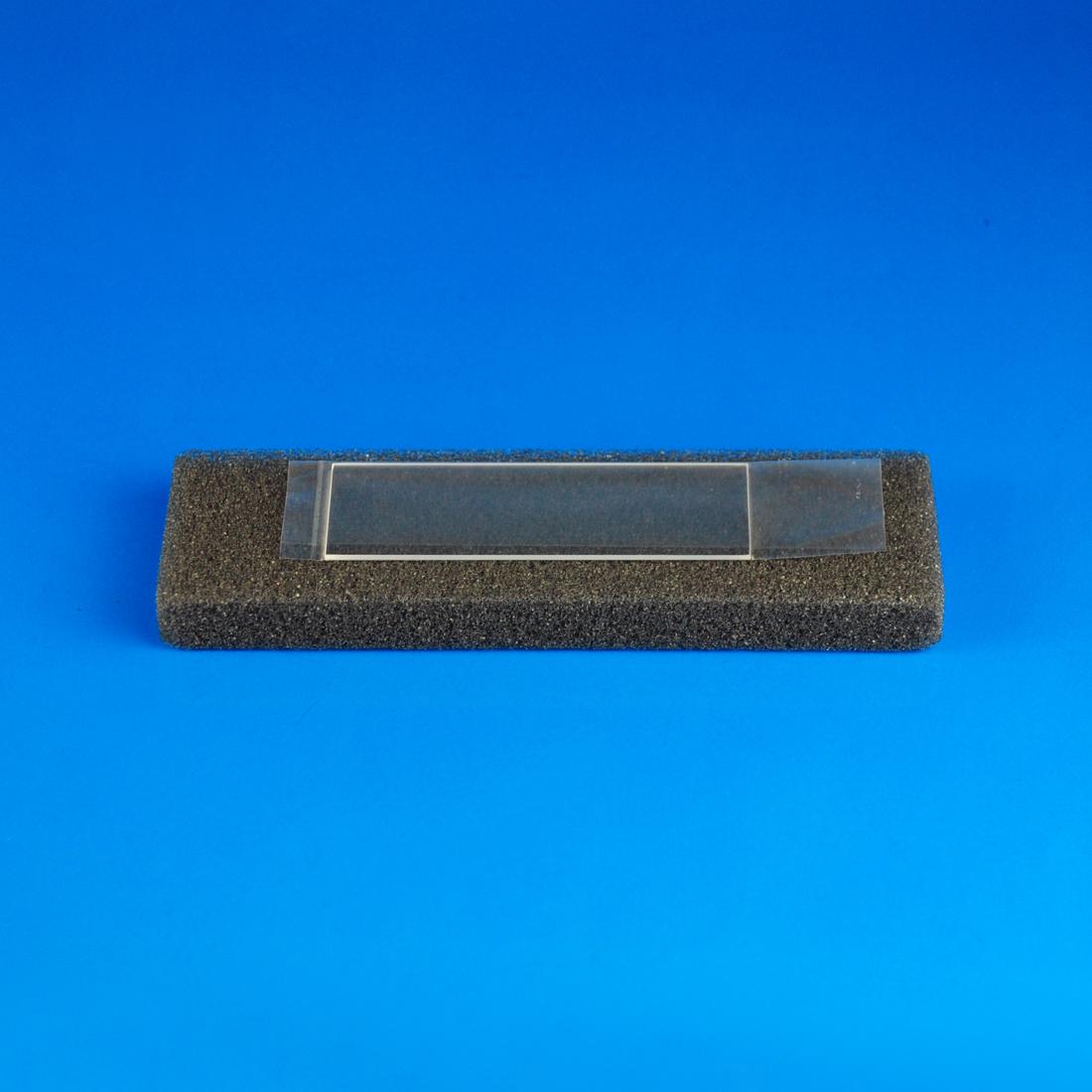 """Quartz Microscope Slide, 1""""x3"""" x 1 mm Thick"""