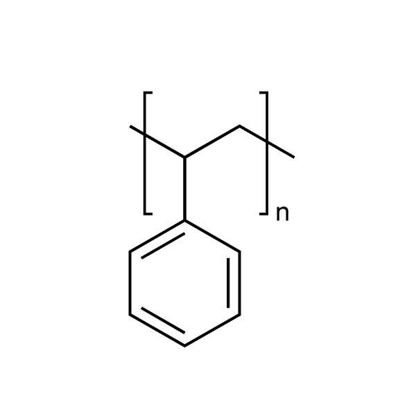 Polystyrene, atactic pellets