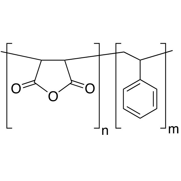 Poly(styrene/maleic anhydride) [75:25], MW 9,500