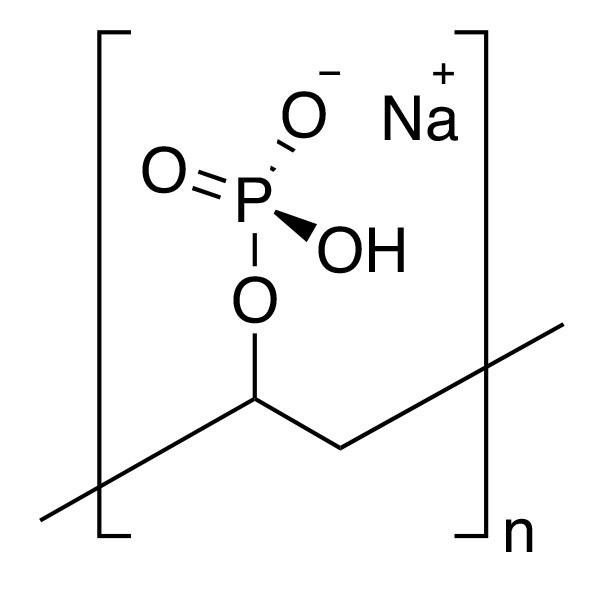 Poly(vinyl phosphoric acid), sodium salt