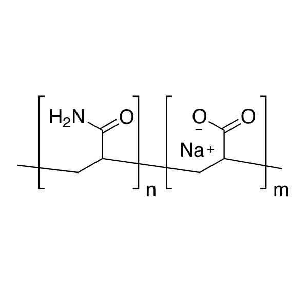 Poly(acrylamide/acrylic acid)