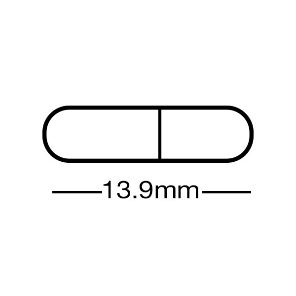 Gelatin Capsules, Embedding, Size 4 (13.9mm long x 5.05mm wide; .21ml volume)