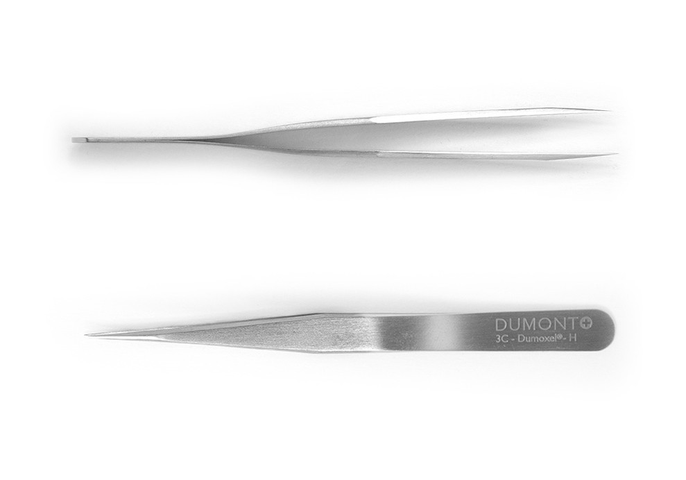 Tweezers, 3C Dumont Dumoxel-H, non-magnetic, standard tip