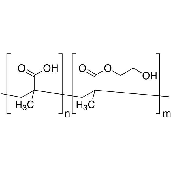 Poly(2-hydroxyethyl methacrylate/methacrylic acid) 90:10