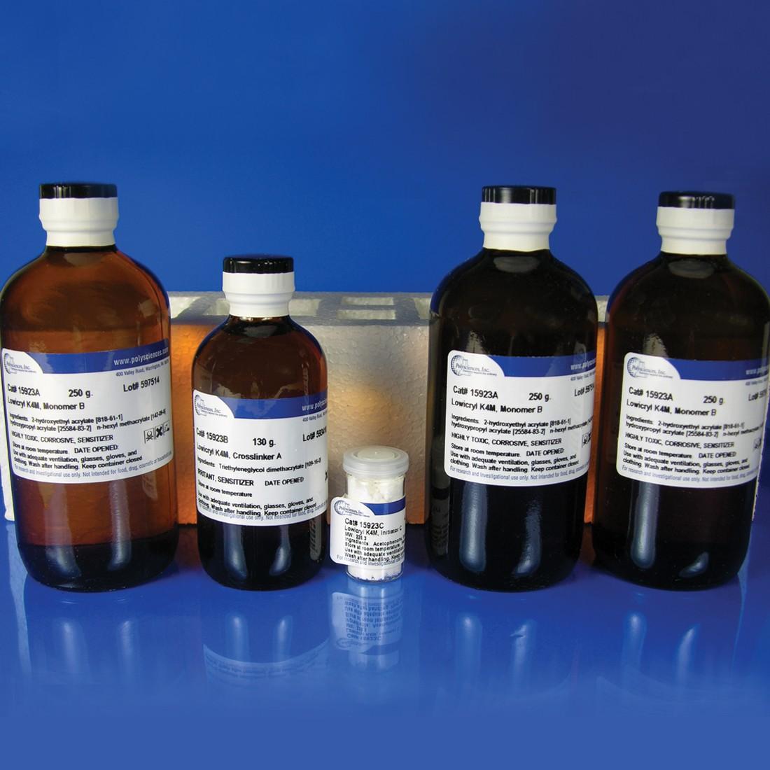 Lowicryl<sup>®</sup> K4M Polar, Hydrophilic, -35ºC embedding kit