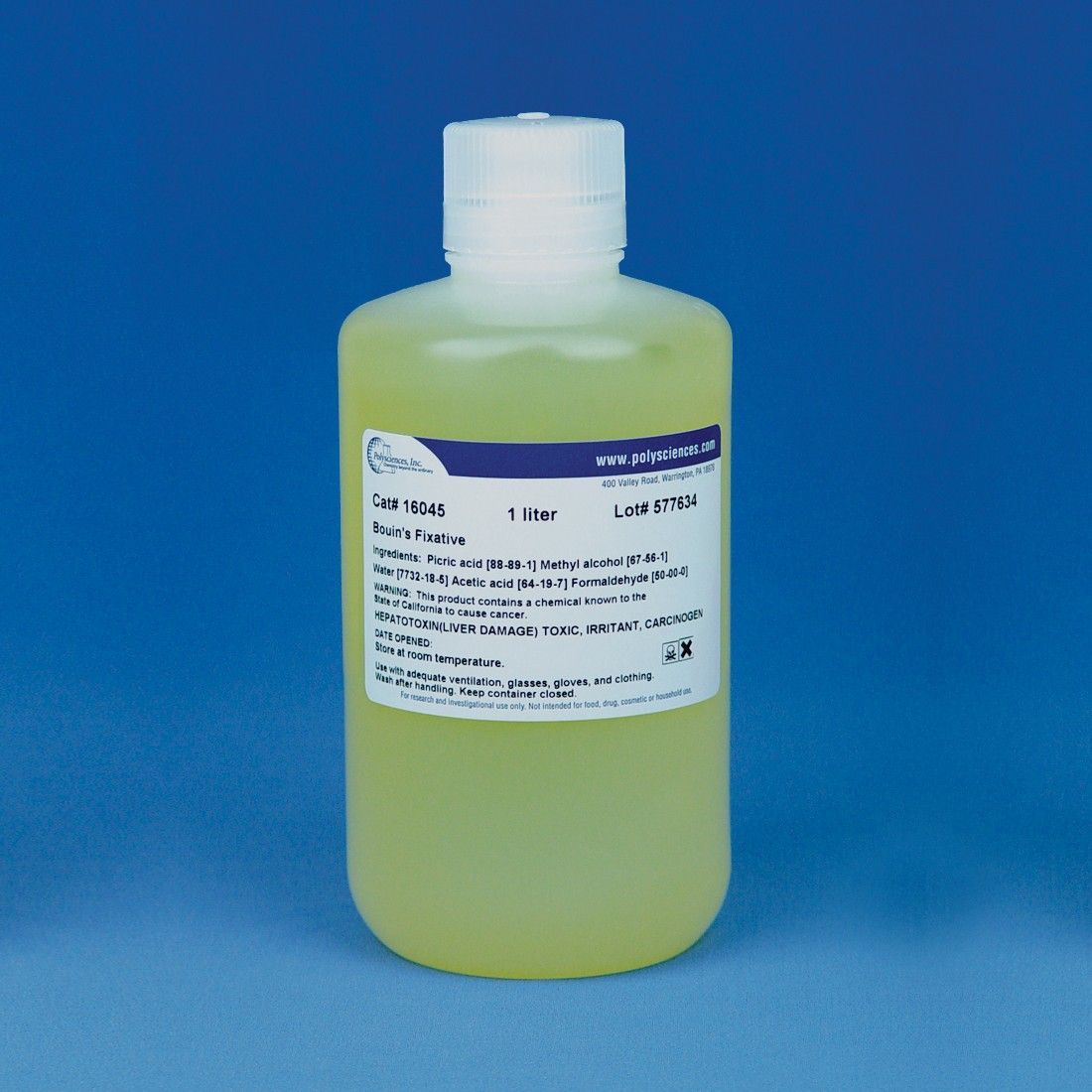 Bouin's Fixative (Bouin's Fluid) | Polysciences, Inc.