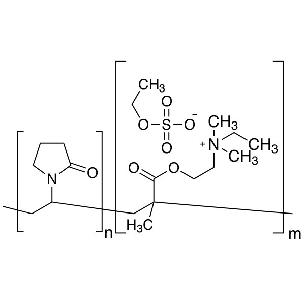 Poly(N-vinylpyrrolidone/2-dimethylaminoethyl methacrylate), dimethyl sulfate quaternary