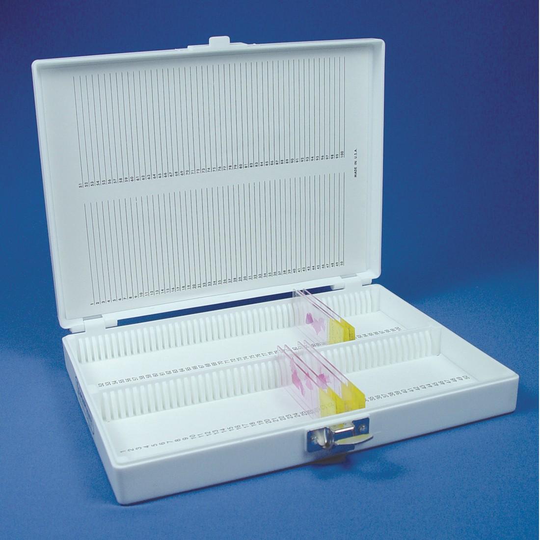 Microscope Slide Storage Box, Plastic large box