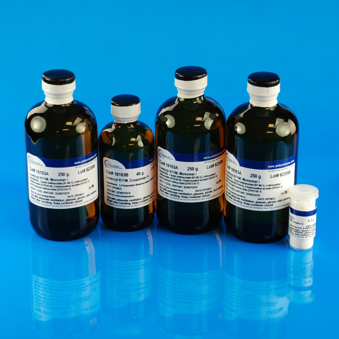 Lowicryl<sup>®</sup> K11M Polar, Hydrophilic, -60ºC embedding kit