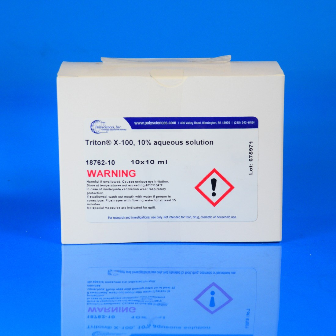 Triton<sup>®</sup> X-100, 10% aqueous solution