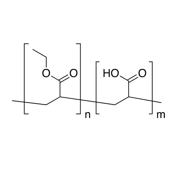 Poly(ethyl acrylate/acrylic acid)