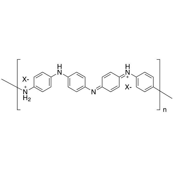 Polyaniline, Emeraldine form (Acid doped)