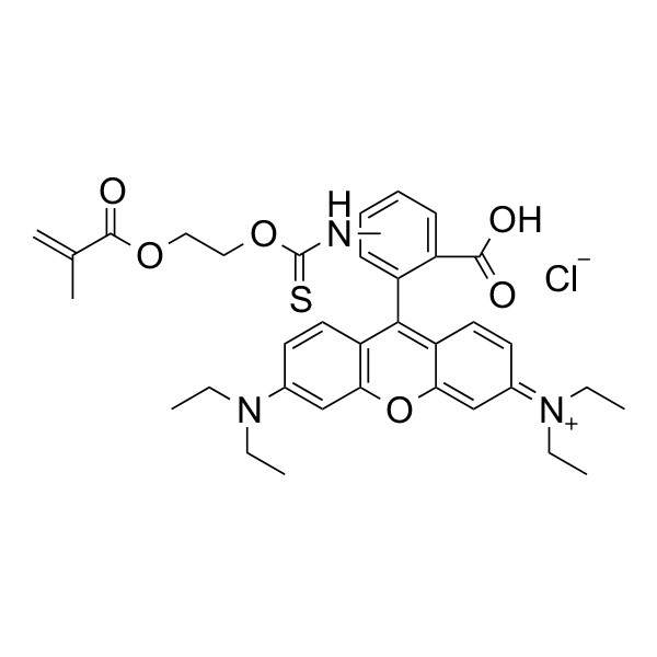 Methacryloxyethyl thiocarbamoyl rhodamine B | Polysciences, Inc.