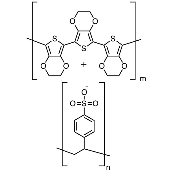 Poly(3,4-ethylenedioxythiophene)/poly(styrenesulfonate), aqueous dispersion (PEDT/PSS)