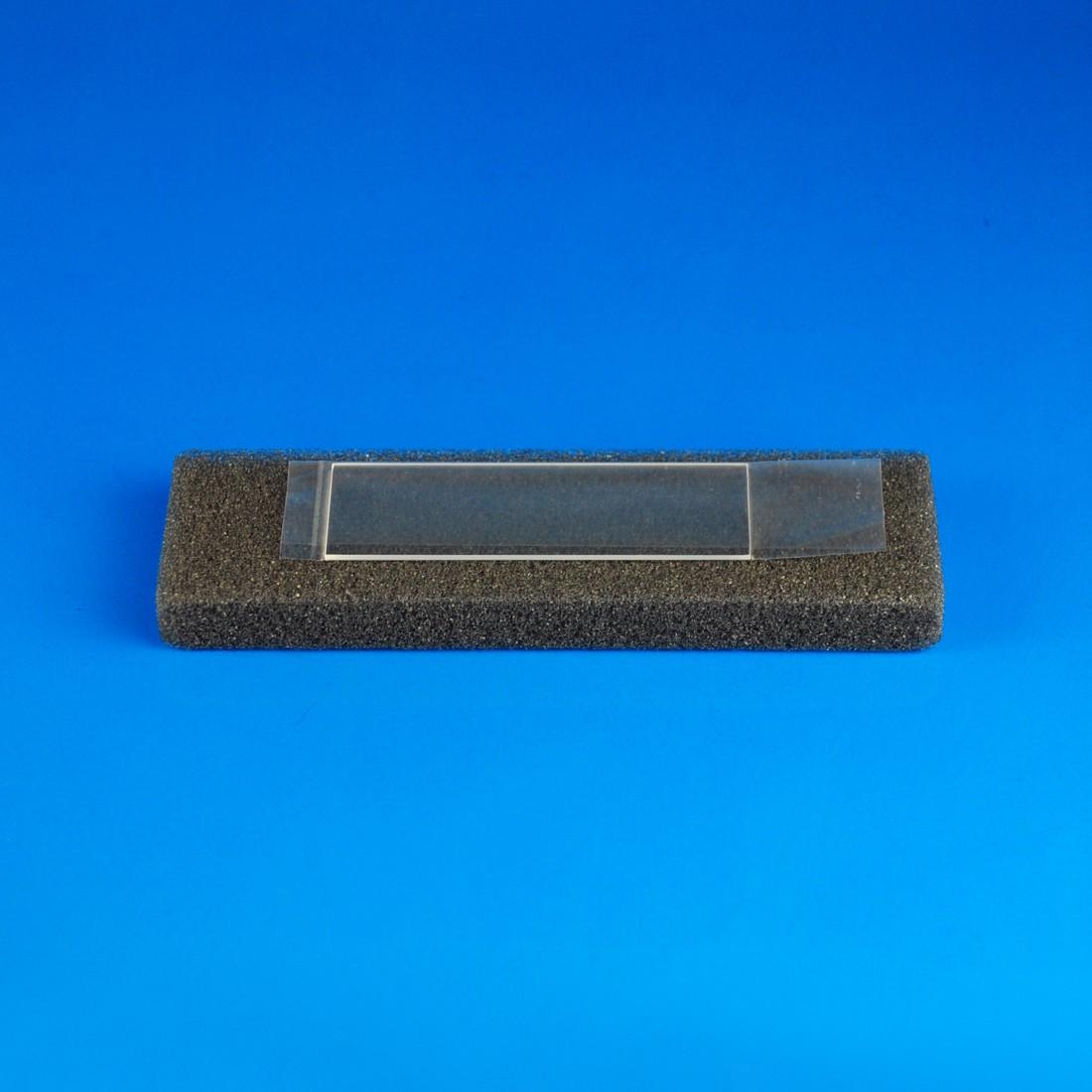 "Quartz Microscope Slide, 1""x3"" (25.4 x 76.2 mm) x 1 mm Thick"
