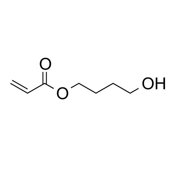 4-hydroxybutyl acrylate structure