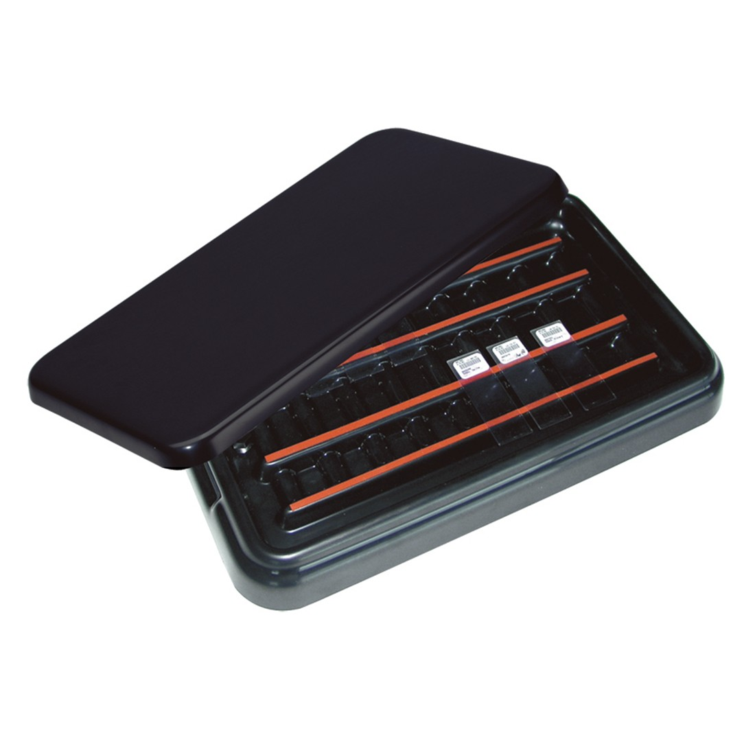 StainTray™ Slide Staining System, Base with Black Lid (20 Slide Capacity)