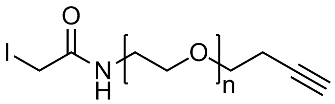Iodoacetamide PEG alkyne, Mp 20000