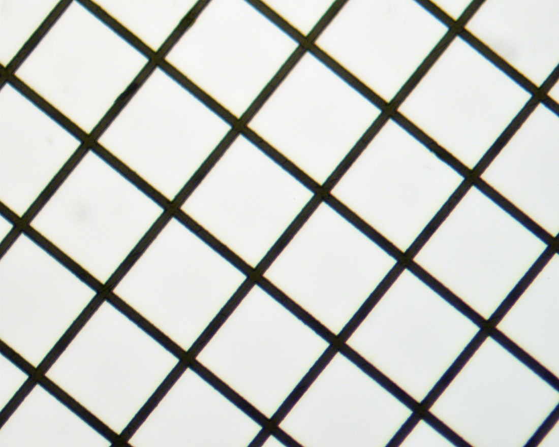Square Mesh Grids - Thin Bar, High Definition - Nickel 200mesh