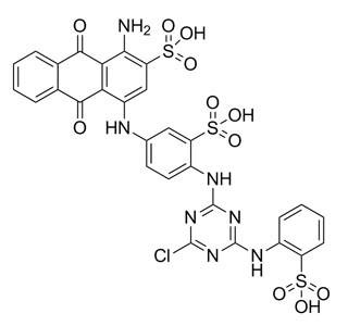 Cibacron Blue, F3GA, C.I. 61211, Affinity Chromatography Grade