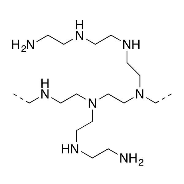 Polyethylenimine, Branched, Mw 70,000, 30% w/v aq. soln. (bPEI 70000 30% soln.)