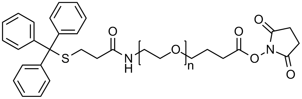 Tritythiol PEG NHS, MP 3000