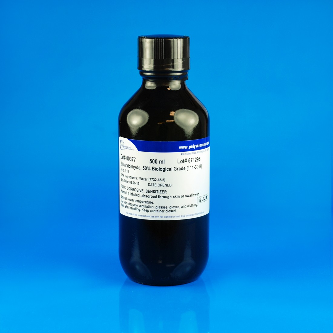 Glutaraldehyde, 50% Biological Grade