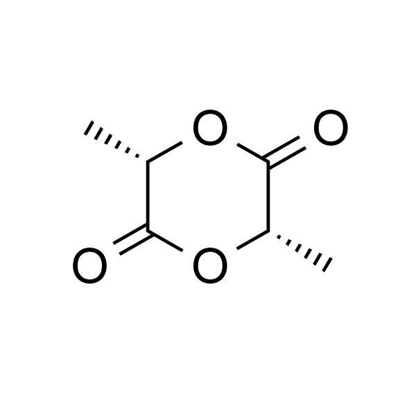 L(-)-Lactide Structure