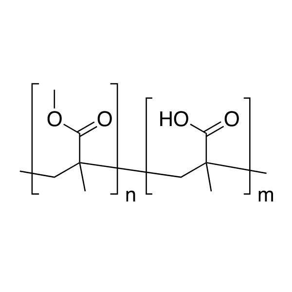Poly(methyl methacrylate/methacrylic acid) [75:25]