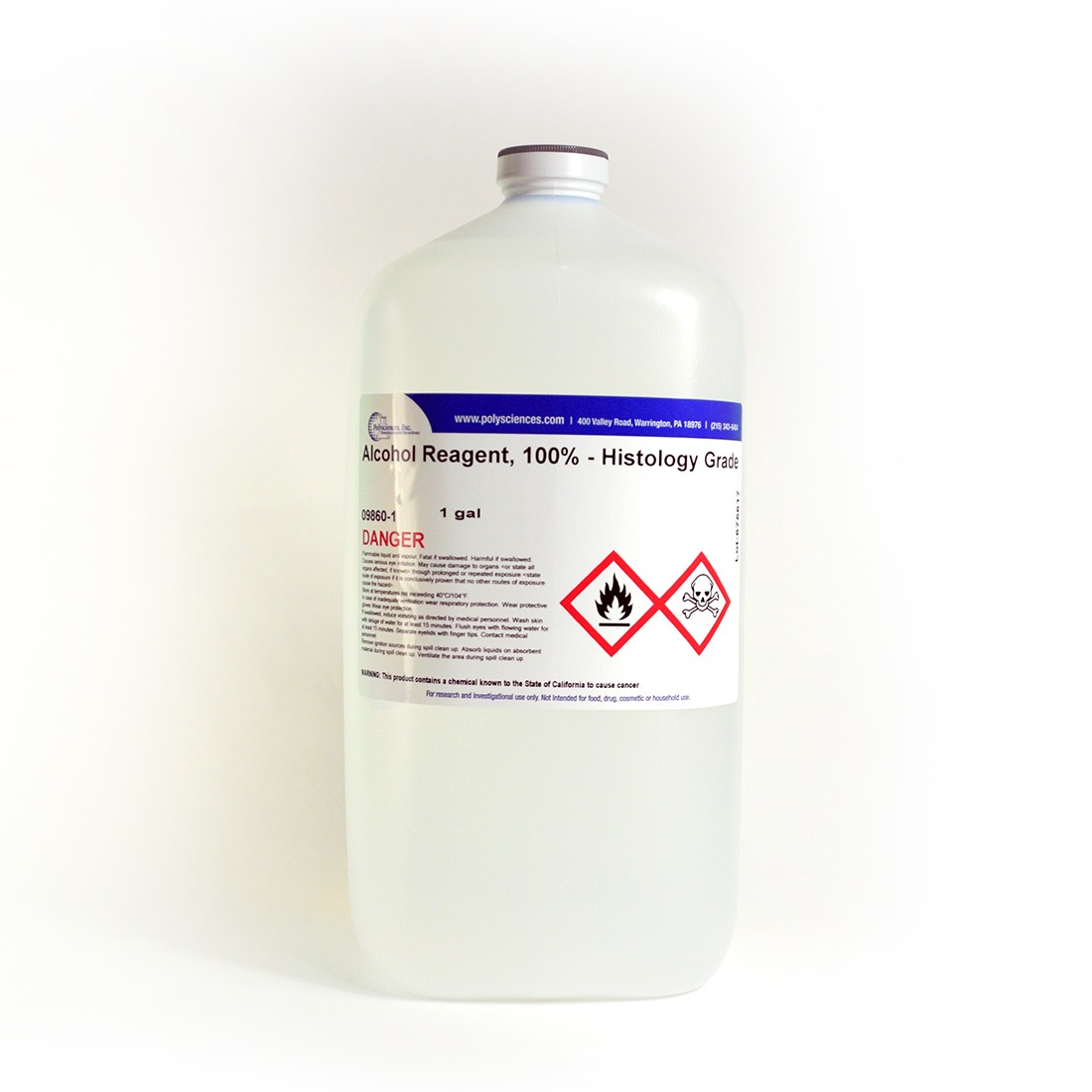 Alcohol Reagent, 100% - Histology Grade