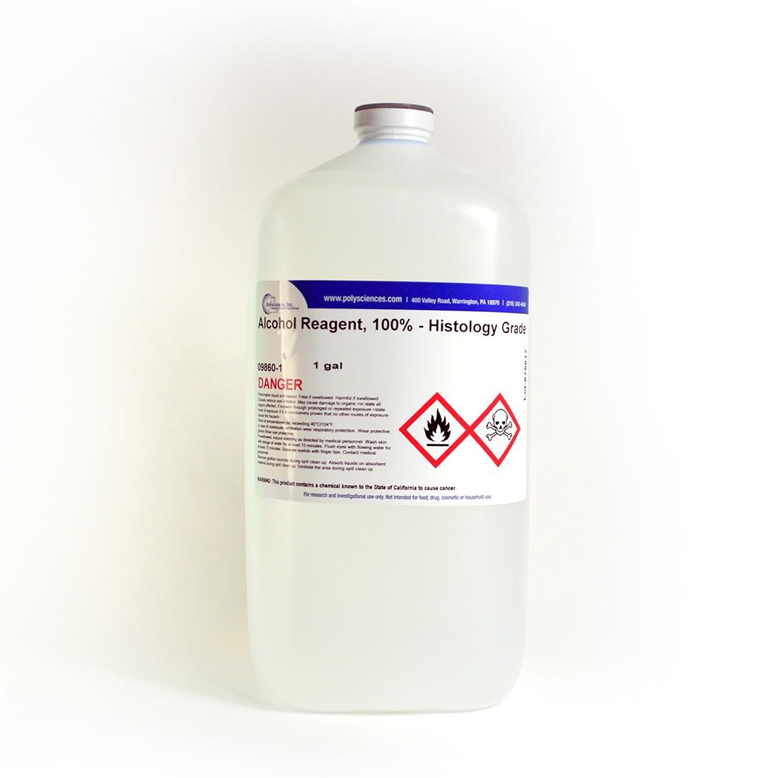 Alcohol Reagent, 100% - Histology Grade | Polysciences, Inc
