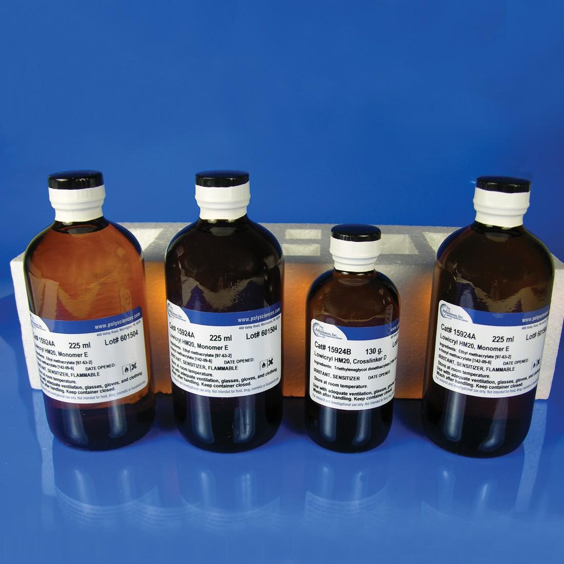 Lowicryl<sup>®</sup> HM20 Non-polar, Hydrophobic, -70ºC Embedding Kit