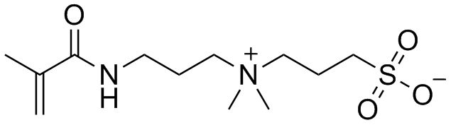 3-Sulfopropyldimethyl-3-methacrylamidopropylammonium, inner salt