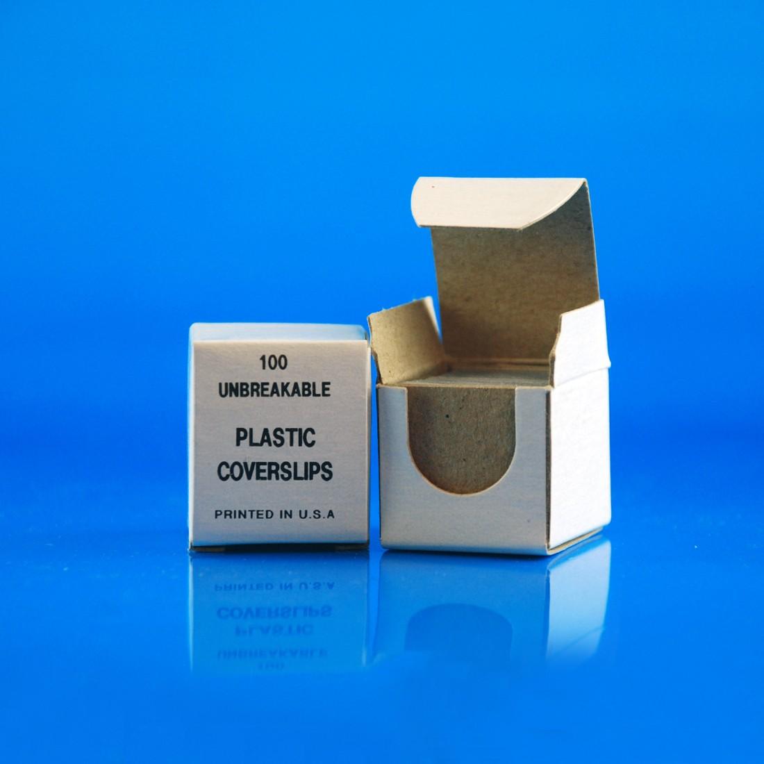 Microscope Slide Coverslips, Plastic