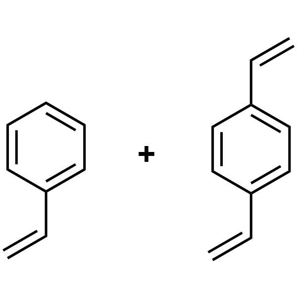 Poly(styrene/divinyl benzene), 98:2