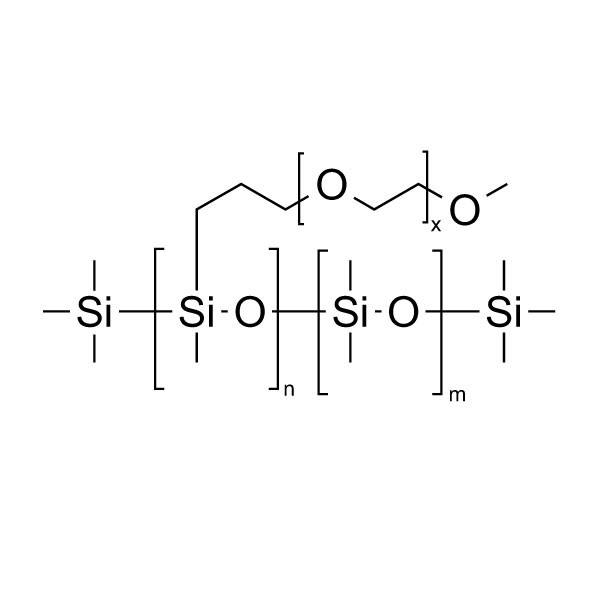 Poly(dimethylsiloxane-b-ethylene oxide), methyl terminated