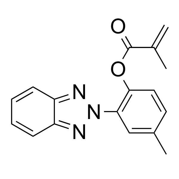 2-(2'-Methacryloxy-5'-methylphenyl)benzotriazole