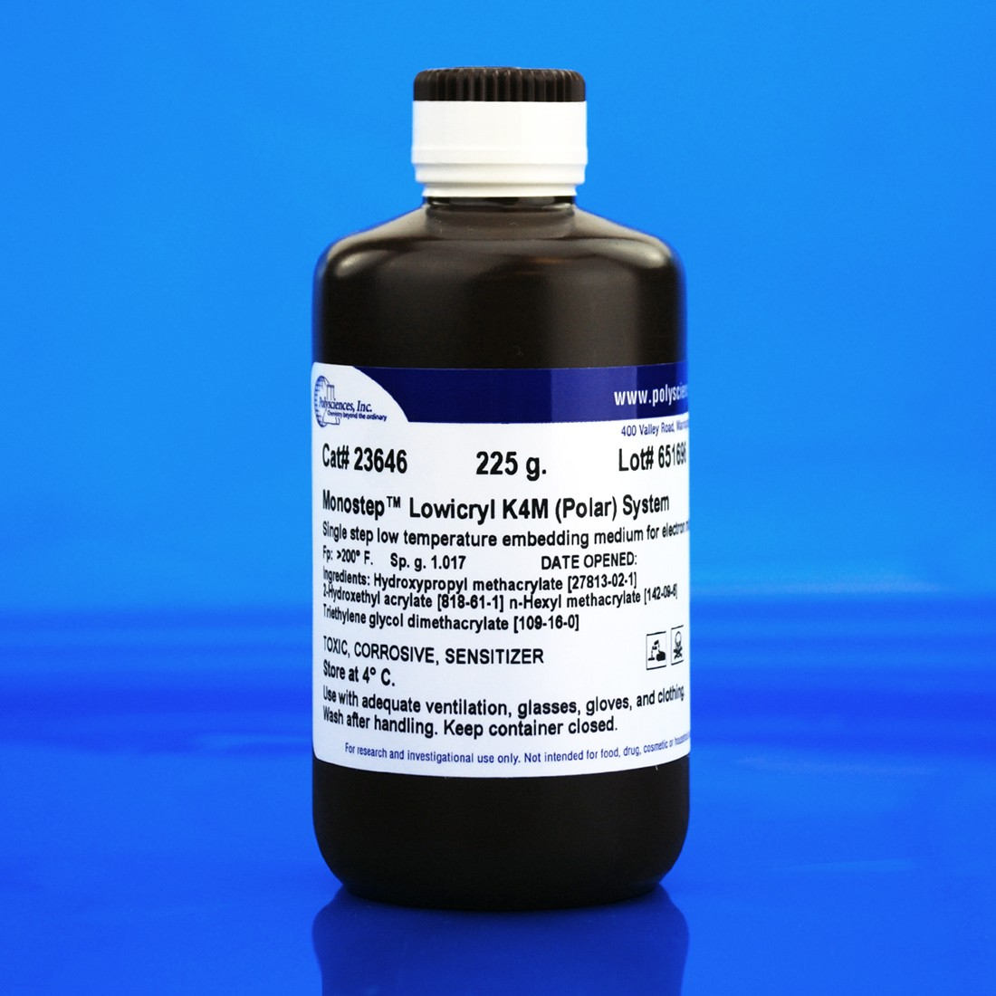 MonoStep™ Lowicryl<sup>®</sup> K4M Polar Embedding Media