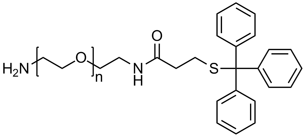 Amine PEG tritylthiol, Mp 10000