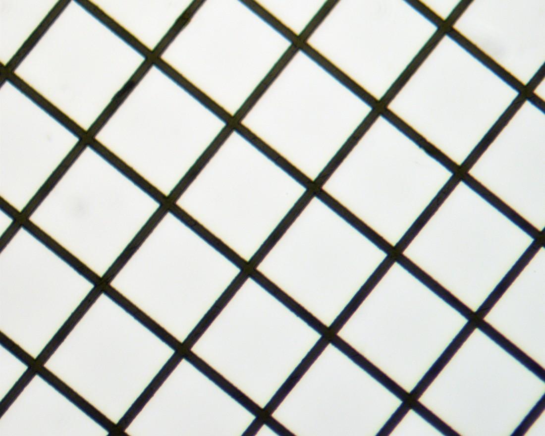 Square Mesh Grids - Thin Bar, High Definition - Nickel 200mesh