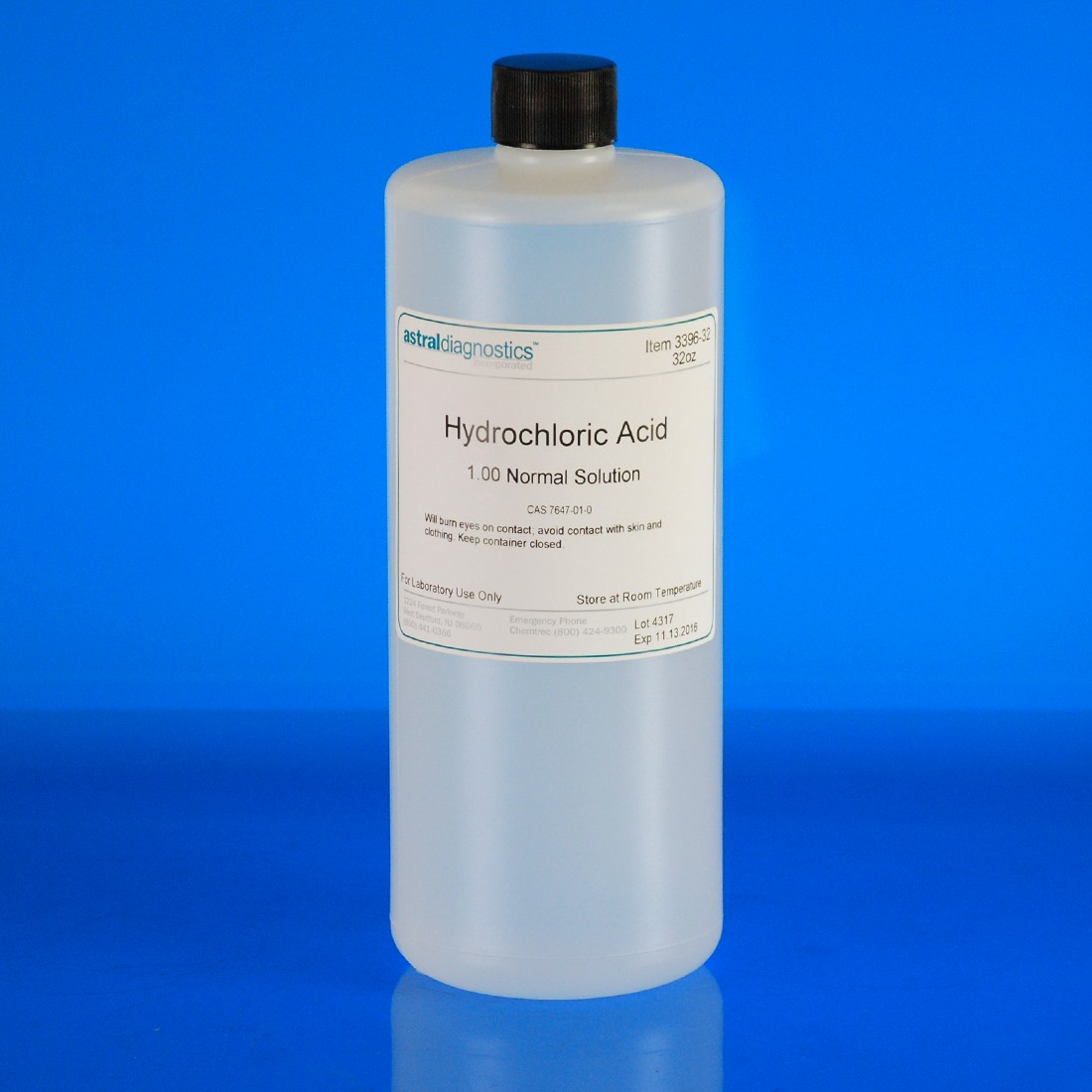 Hydrochloric Acid, 1N | Polysciences, Inc.