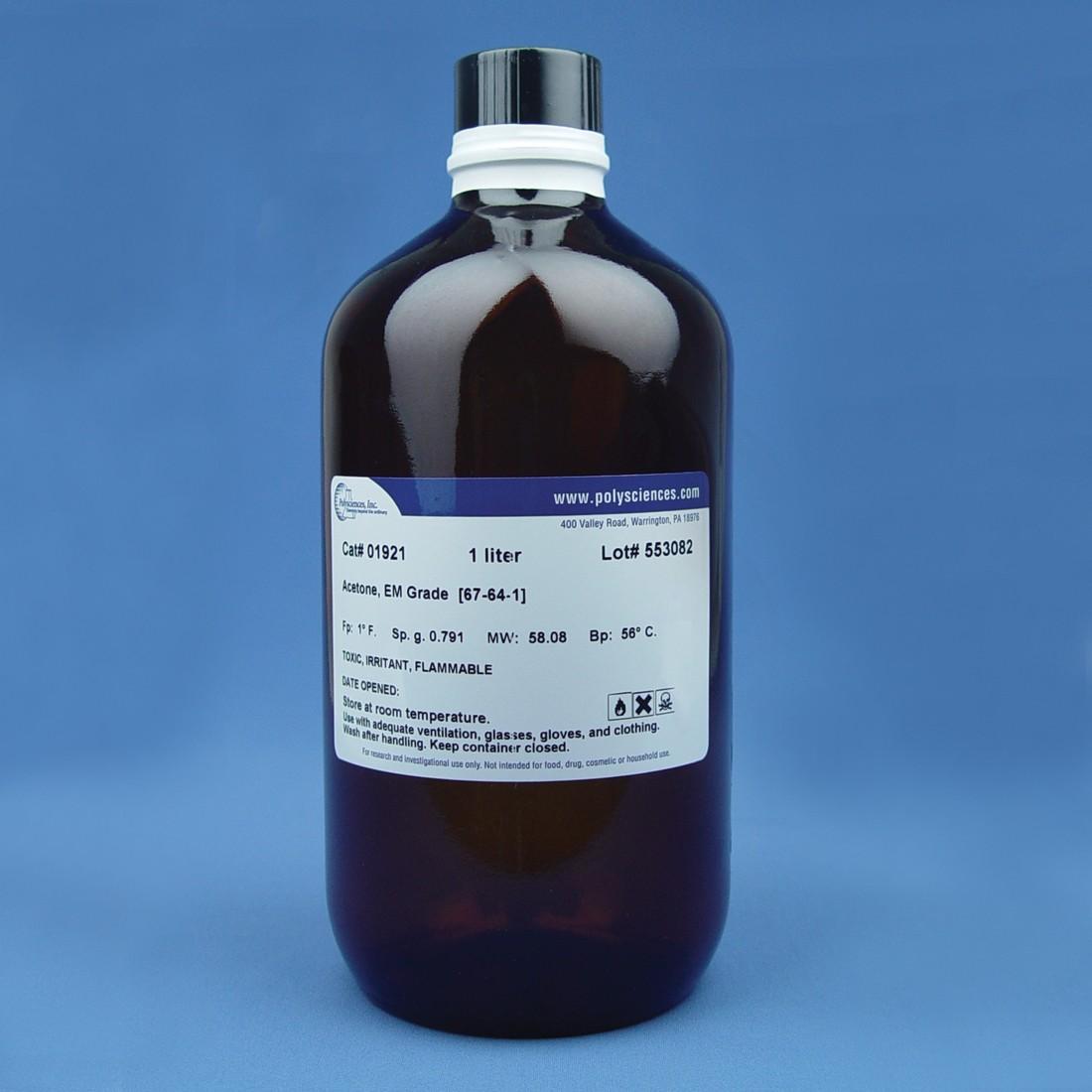 Acetone, EM Grade, 99.5% minimum
