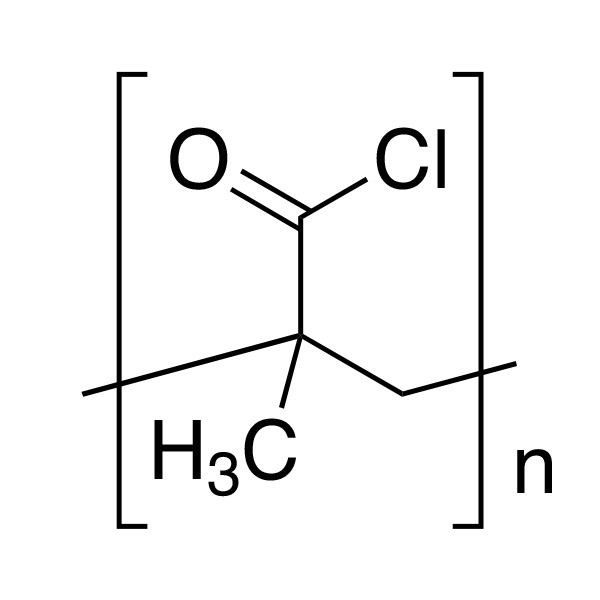 Poly(methacryloyl chloride), 25% soln. in dioxane