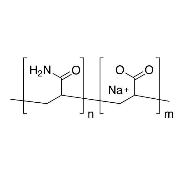 Poly(acrylamide/acrylic acid)