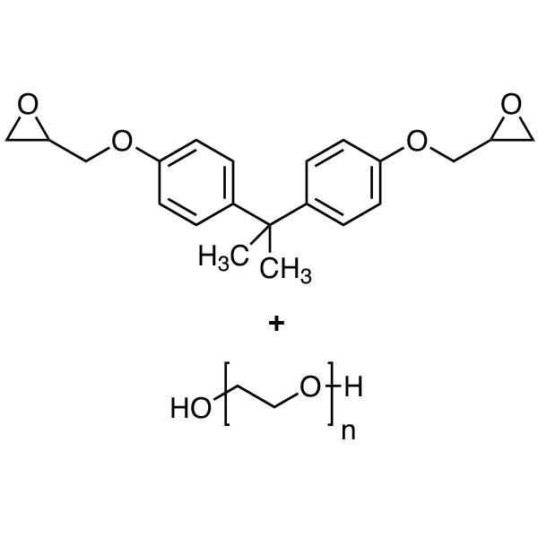 Poly(ethylene glycol)-bisphenol A diglycidyl ether adduct