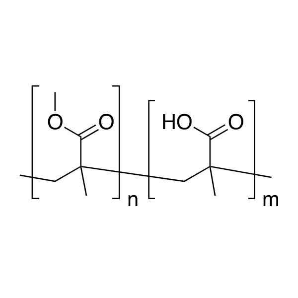 Poly(methyl methacrylate/methacrylic acid) [80:20]
