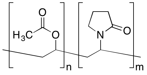 Poly(N-vinylpyrrolidone/vinyl acetate) [70:30]