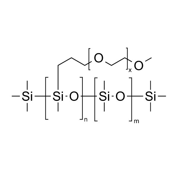 Poly(dimethylsiloxane-b-ethylene oxide), methyl terminated