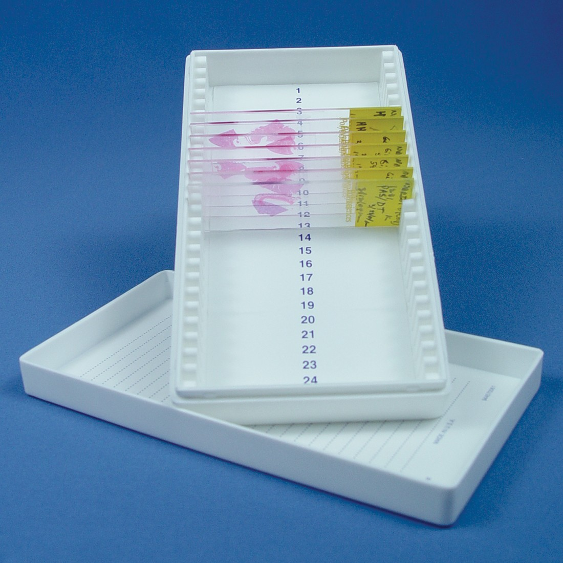 Microscope Slide Storage Box, Plastic small box
